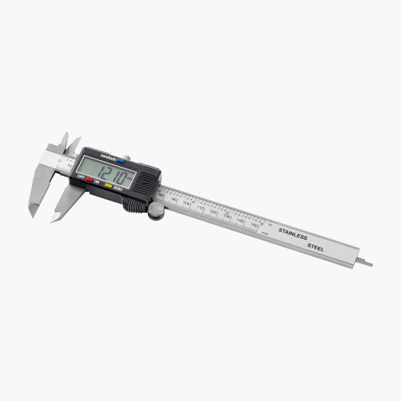 Digital vernier callipers, stainless