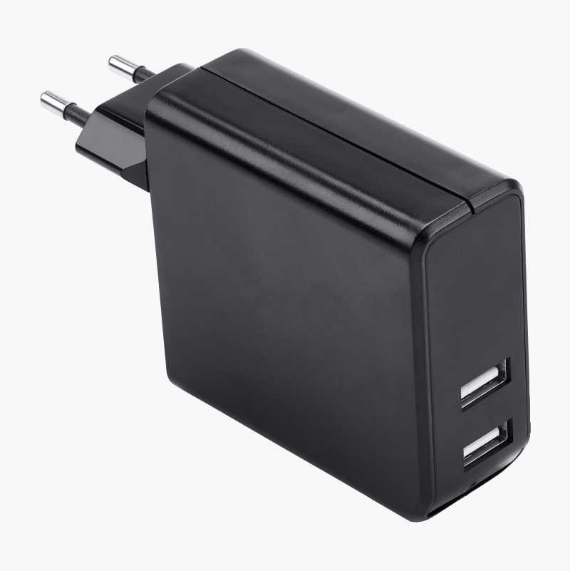 USB lader, 4 utganger Biltema.no