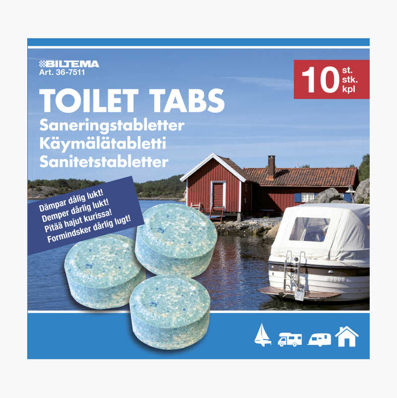 Sanitation Tablets, 10-pack