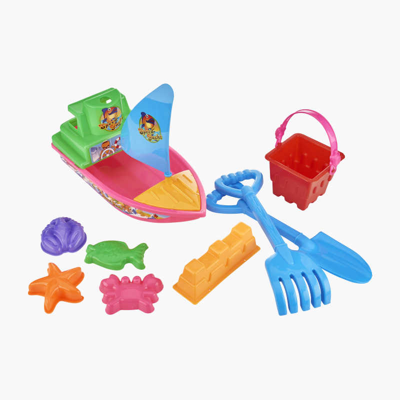 Beach boat set, 10 parts