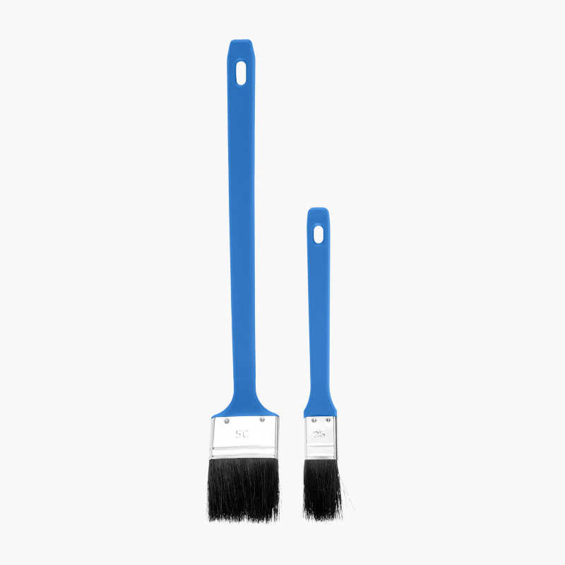 Paintbrush Set Basic, angled, 2-pack