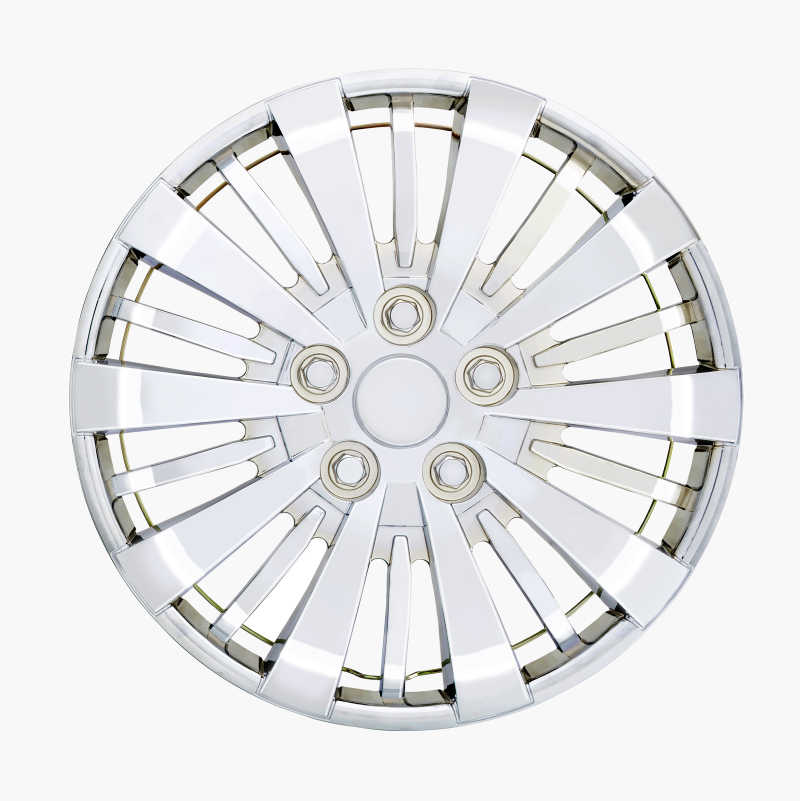 Hubcaps Chrome, 4 pcs.
