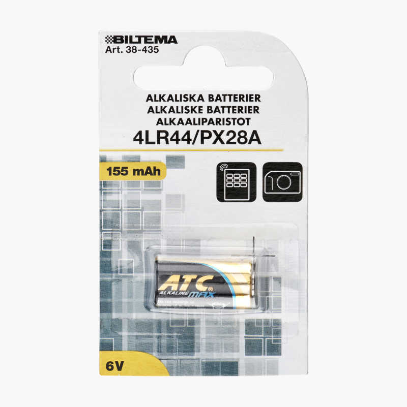 4LR44/PX28 Alkaline Battery