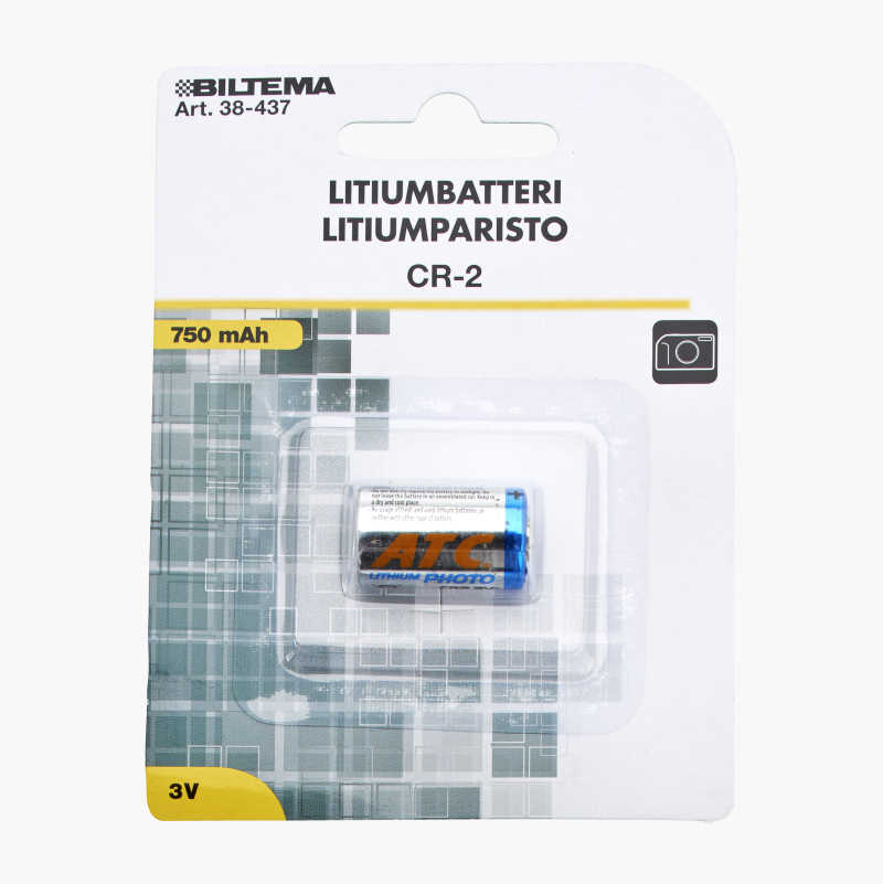 CR-2 Lithium Battery