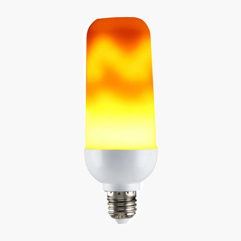 LED, eldflammor, E27