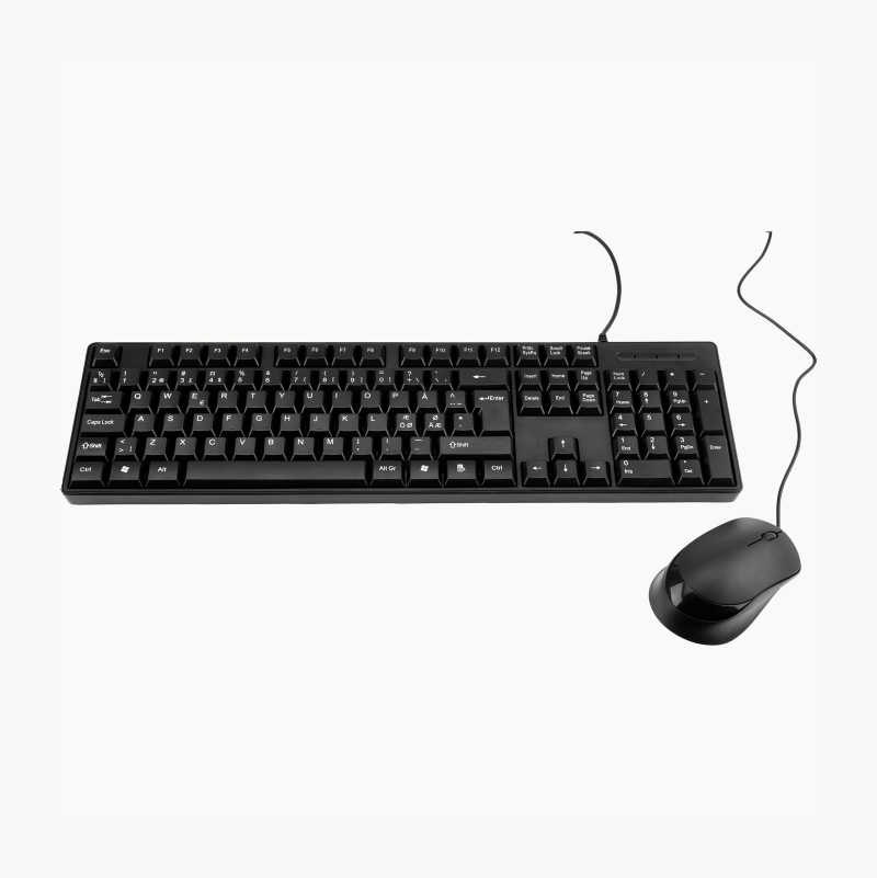 Keyboard and Optical Mouse