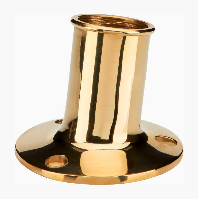 Brass Flag Pole Holder