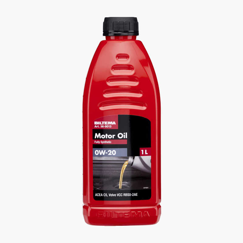Fully synthetic engine oil 0W–20