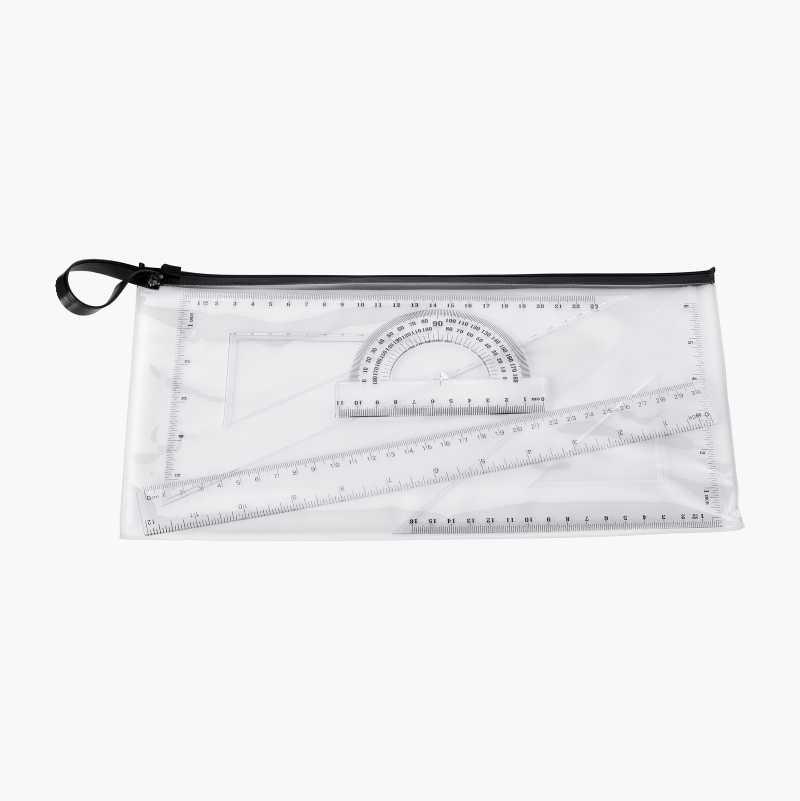 Ruler set, 4 parts