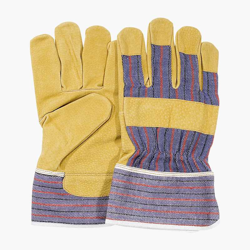 Leather work gloves 759