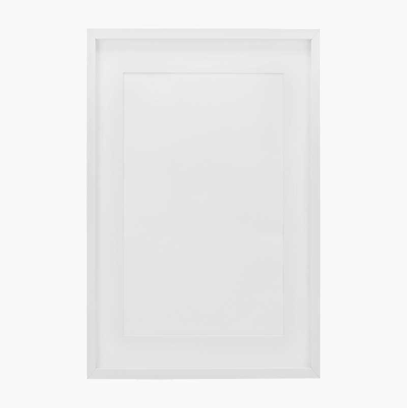 Ram Ted 50x70 cm Svart Plexiglas