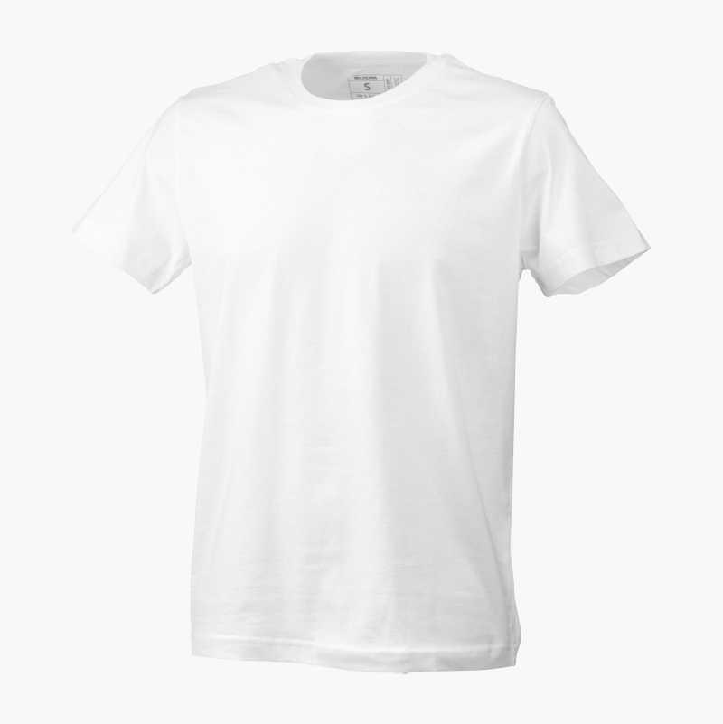 T-shirt, vit