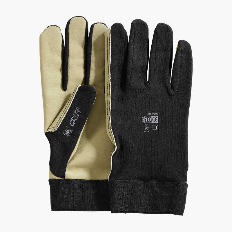Working gloves nylon/cotton