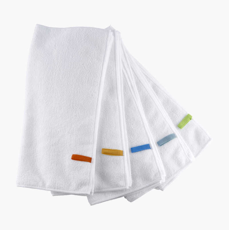 Microfibre Wash Cloths, 10-pack