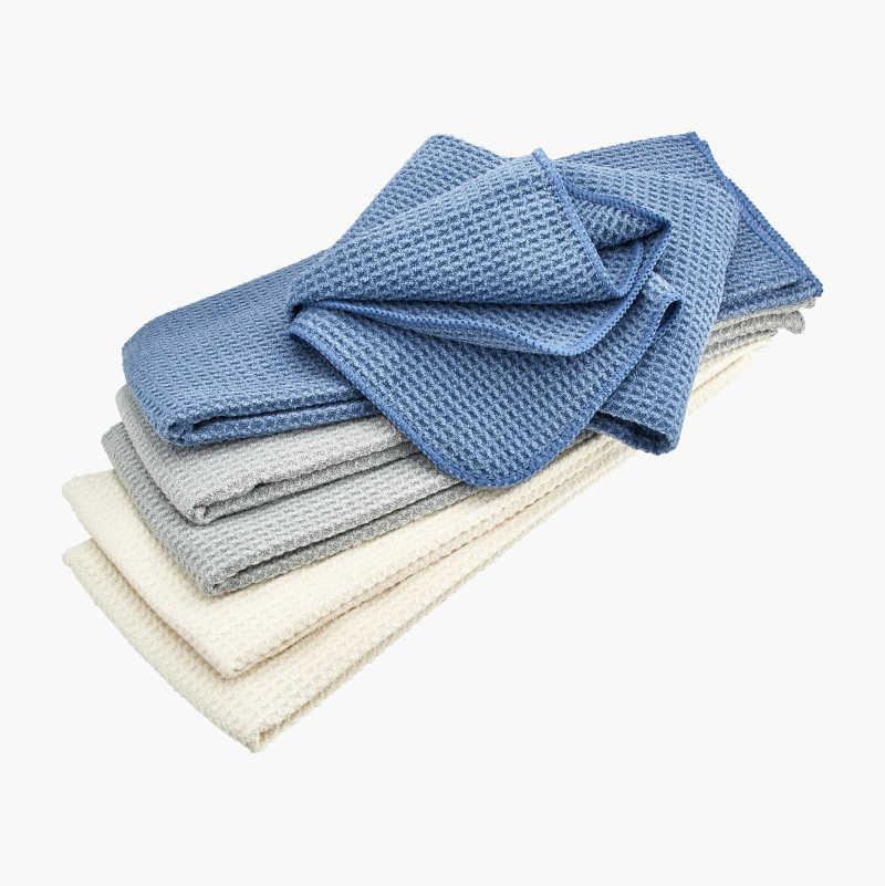 Microfibre Dish Towels, 6-pack