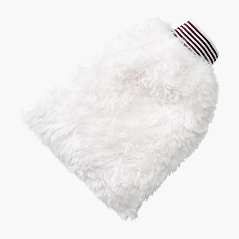 Wash Mitt, synthetic wool