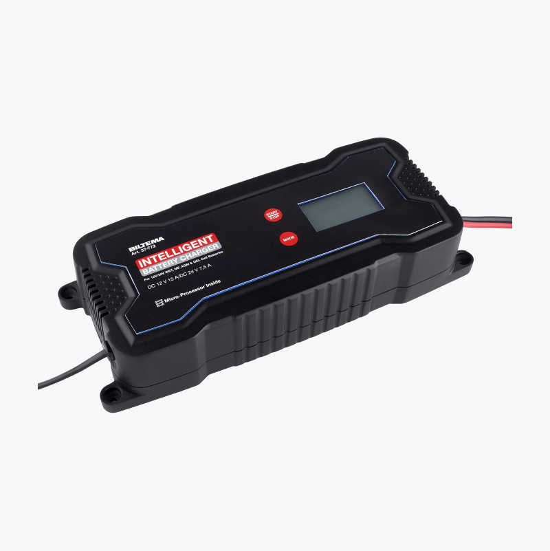Battery Charger 12/24 V, 15 A