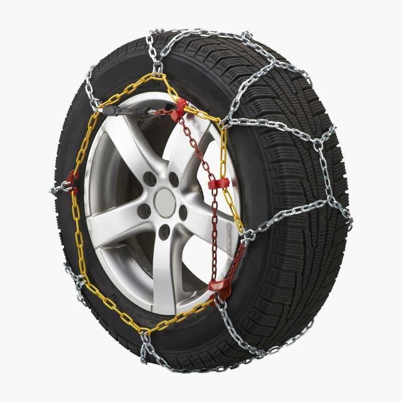 Snow Chains, wide, pair