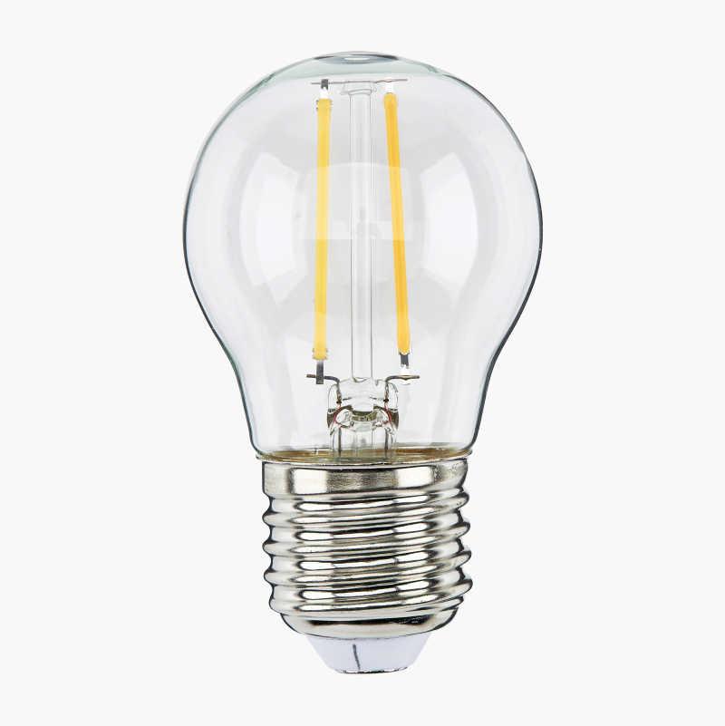Minipallolamppu E27, himmennettävä, kirkas