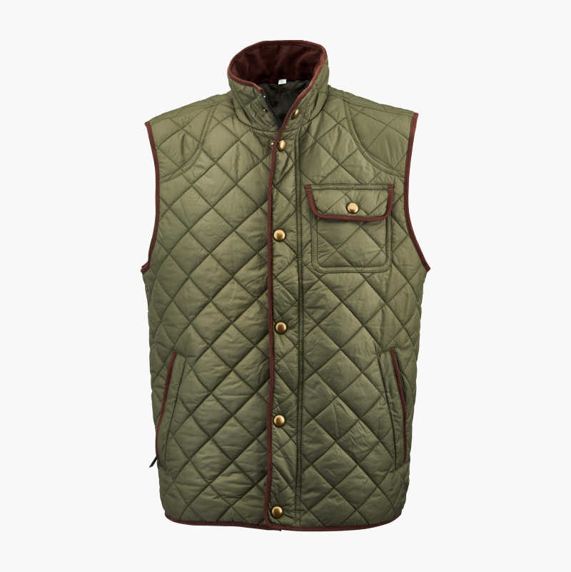 Quilted Casual Vest