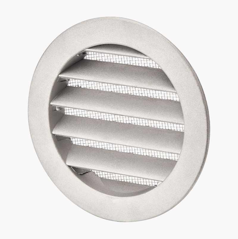 Ventilationsgitter, aluminium
