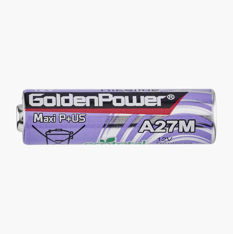 V27A/27A Alkalisk batteri