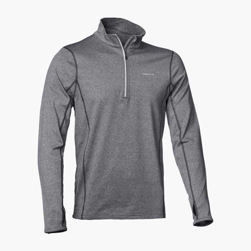 Men's Workout Top, half zip