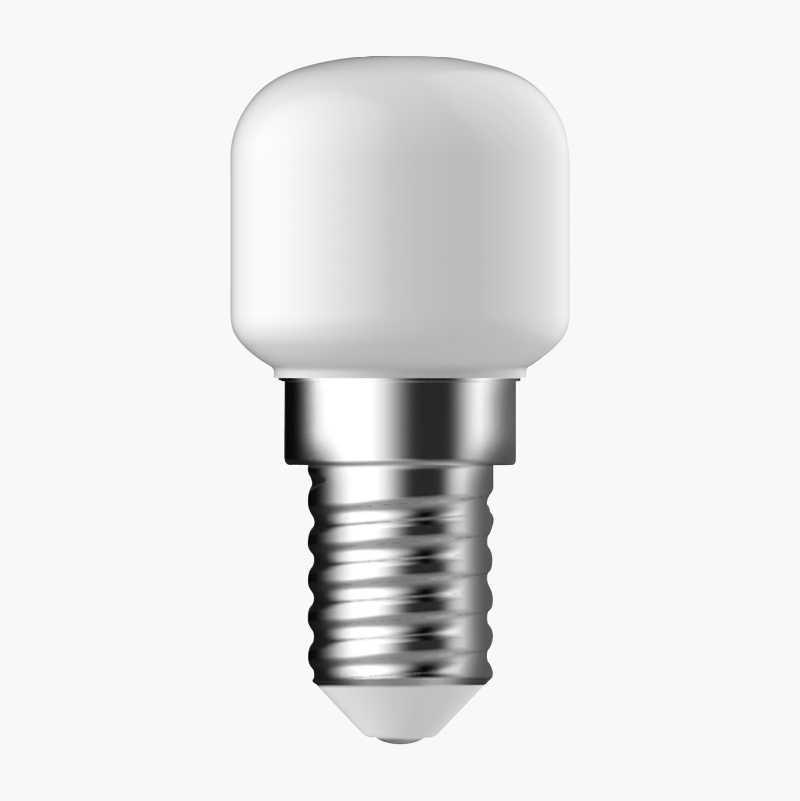 LED, päronlampa/kylskåpslampa, E14