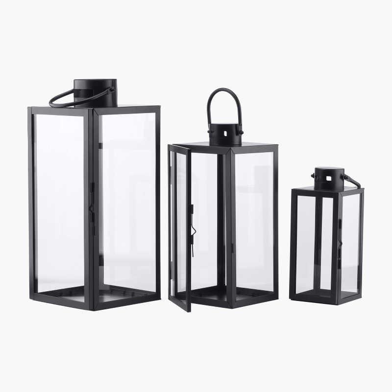 Candle Lanterns, 3-pack