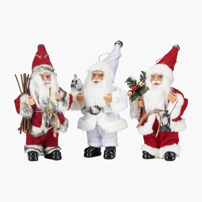 Santas, 3-pack