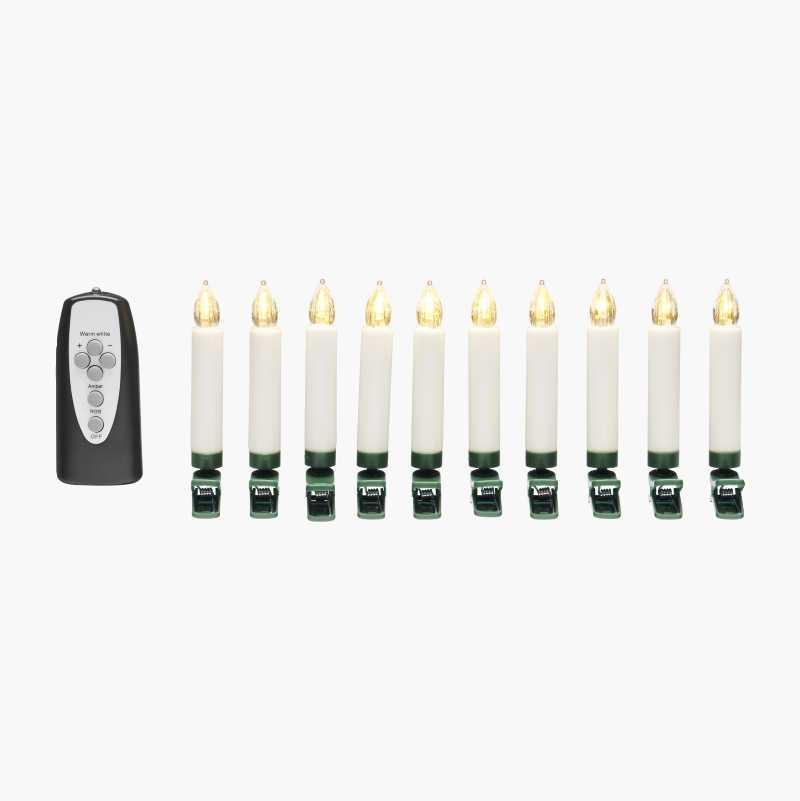LED Christmas Tree Lights, 10-pack