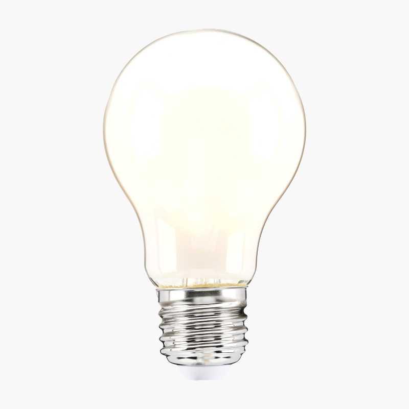 Normaalilamppu E27, huurrettu