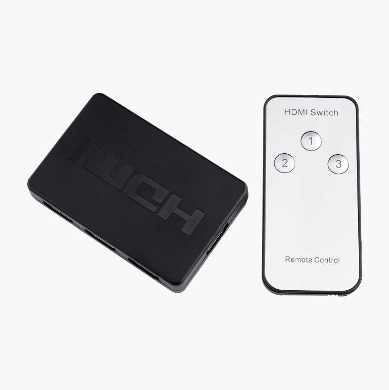 HDMI-switch, 3 to 1
