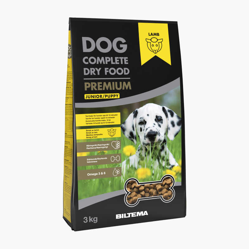 Dry food for puppies and young dogs, 3 kg