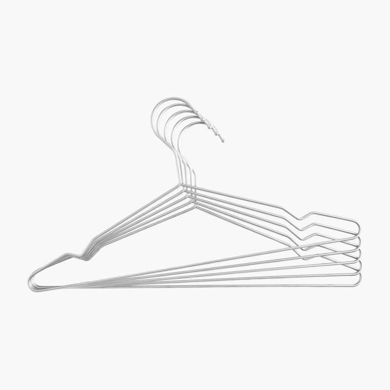 Metal Hangers, 5-pack