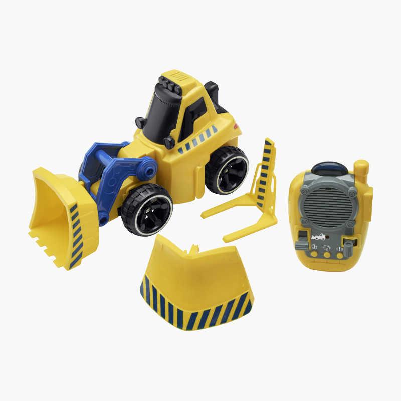 IR bulldozer