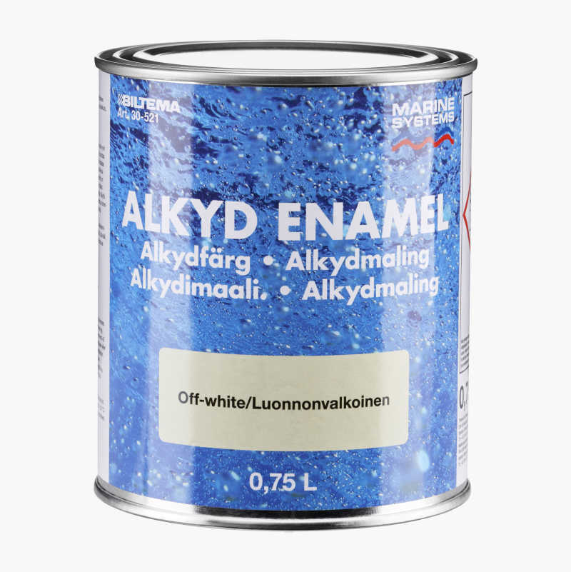 Underbar Alkydfärg - Biltema.se OB-63