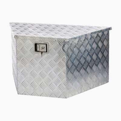 Oppbevaringskasse, aluminium