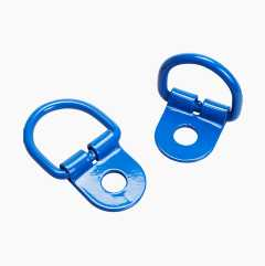 Child seat fittings, 2 pcs