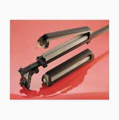 Ski holder, lockable