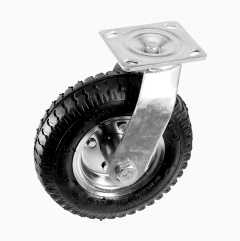 Svingbart luftgummihjul