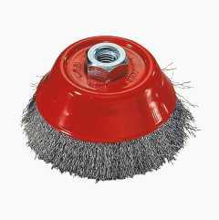 Axial brush