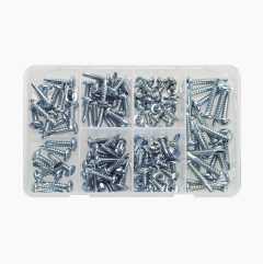 Self-tapping screws, 120 pcs.