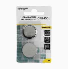 Lithiumbatterier 3 V