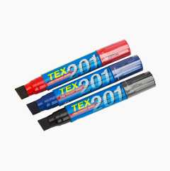 Marker pens Jumbo, set of 3