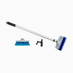 Däcksborstset med båtshake