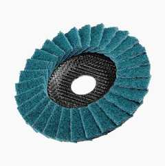 Flap disc, polishing