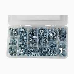 Nut and Washer Assortment UNC (filling kit), 380 pcs.