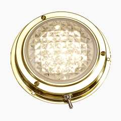 Brass lamp LED