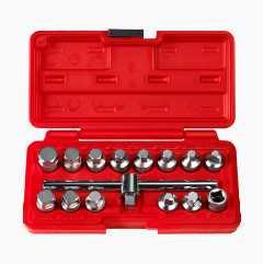 Oil Plug Set, 15 parts